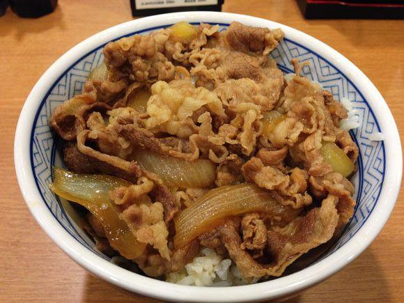 gyudon sukiyaki yoshinoya