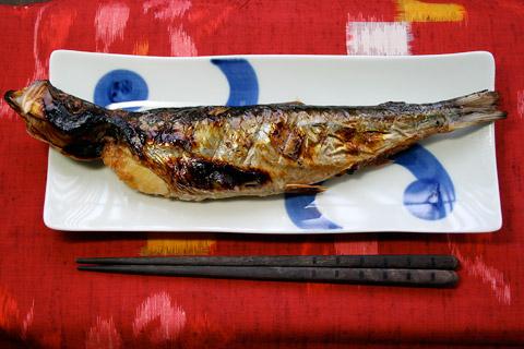 yakizakana masakan jepang