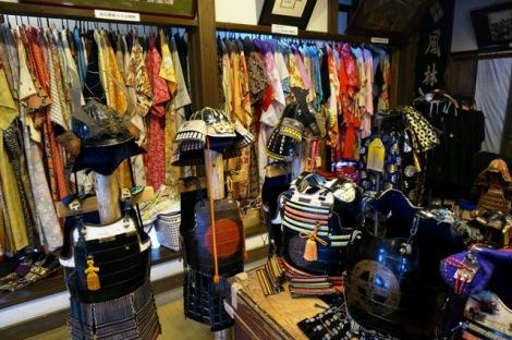 pilihan untuk samurai dan geisha cosplay