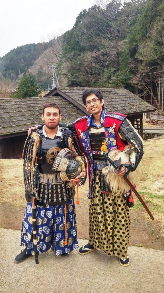 Team Tour ke Jepang Samurai sejatinya.. xixixi