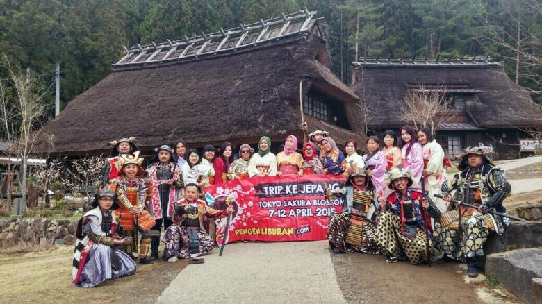 tour ke jepang peserta di kawaguchi