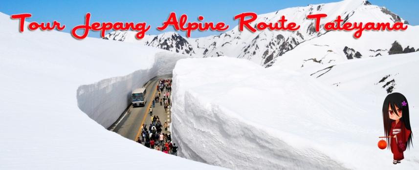 tour ke jepang alpine route dan tokyo