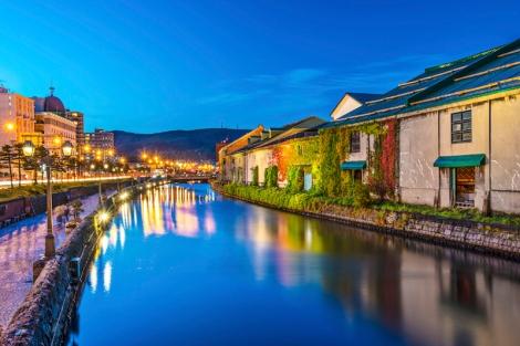 Otaru-Canals-di-Hokkaido