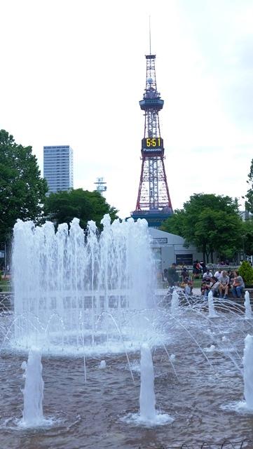 air mancur di odori park sapporo